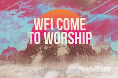 Unshakeable Faith Welcome Motion Graphic