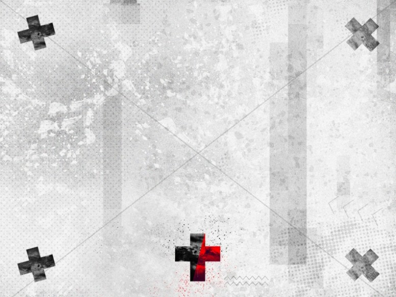 Grunge Cross Church Worship Background