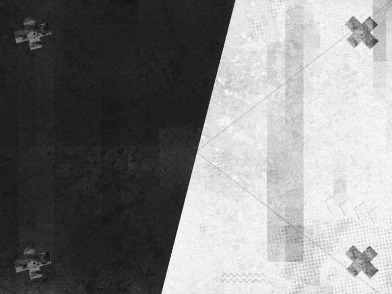 Black And White Grunge Background