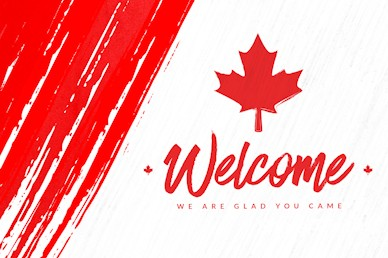 Canada Day Welcome Motion Graphic