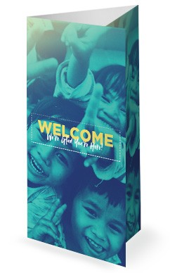 Church Missions Trip Trifold Bulletin Cover