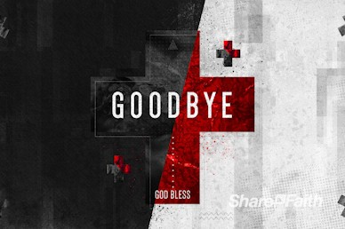 Words of Life John 3:16 Goodbye Motion Graphic