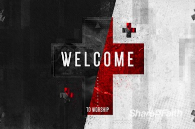 Words of Life John 3:16 Welcome Motion Graphic