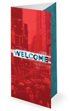 Culture Wars Christian Church Trifold Bulletin