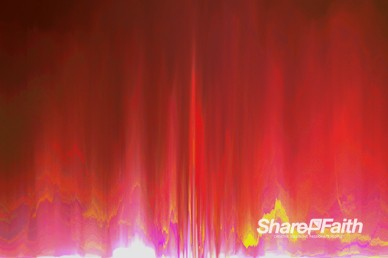 Pixel Heat Wave Worship Motion Background