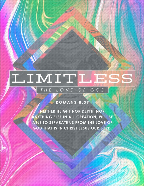 Limitless Sermon Series Church Flyer Template