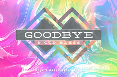 Limitless Sermon Series Goodbye Motion Graphic