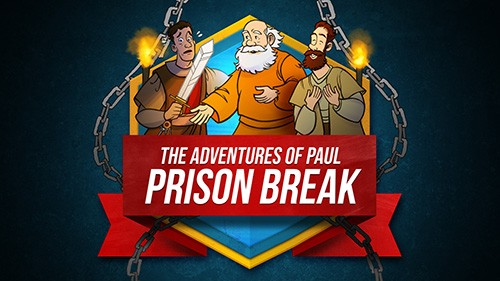 Acts 16 Prison Break Bible Video for Kids