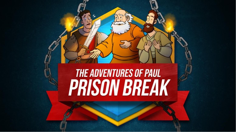 Acts 16 Prison Break Kids Bible Story