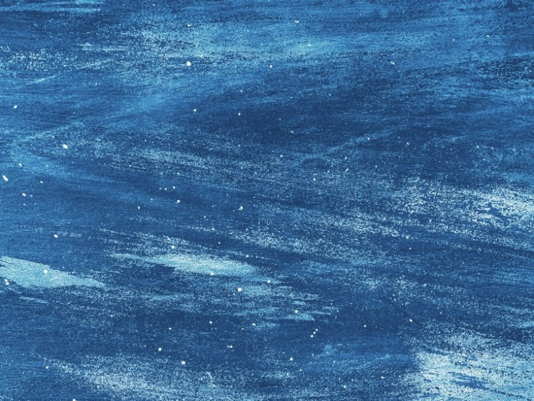 Brushed Blue Paint Texture Worship Background