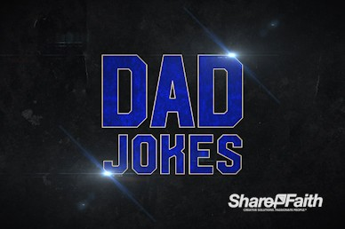 Funny Dad Jokes Church Motion Loop