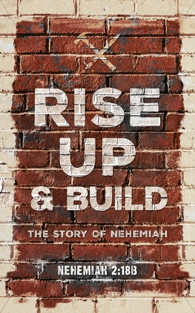 Rise Up And Build Church Bulletin Cover