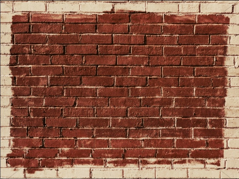 Rise Up And Build Brick Wall Background