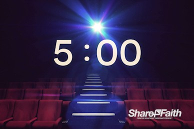 At The Movies Church Service Countdown Timer