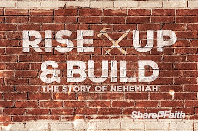 Rise Up And Build Sermon Motion Graphic