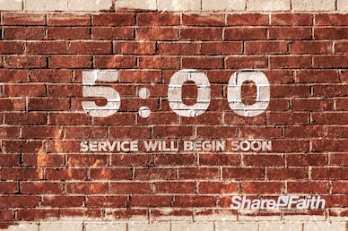 Rise Up And Build Church Countdown Timer