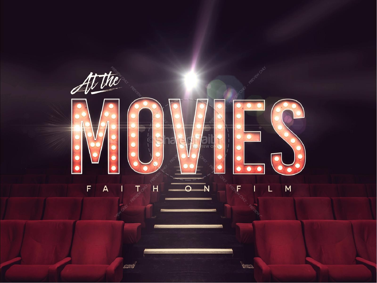 At The Movies Church Sermon Series PowerPoint | PowerPoint