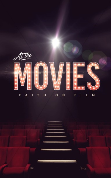 At The Movies Church Sermon Series Bulletin Cover