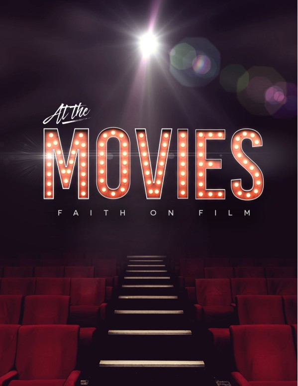 At The Movies Church Sermon Series Flyer Template