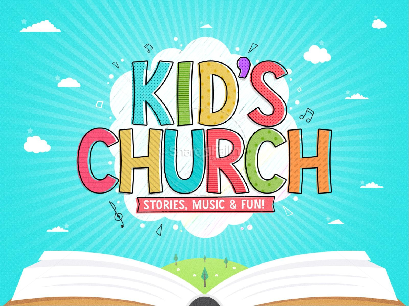 Kid's Church Service PowerPoint