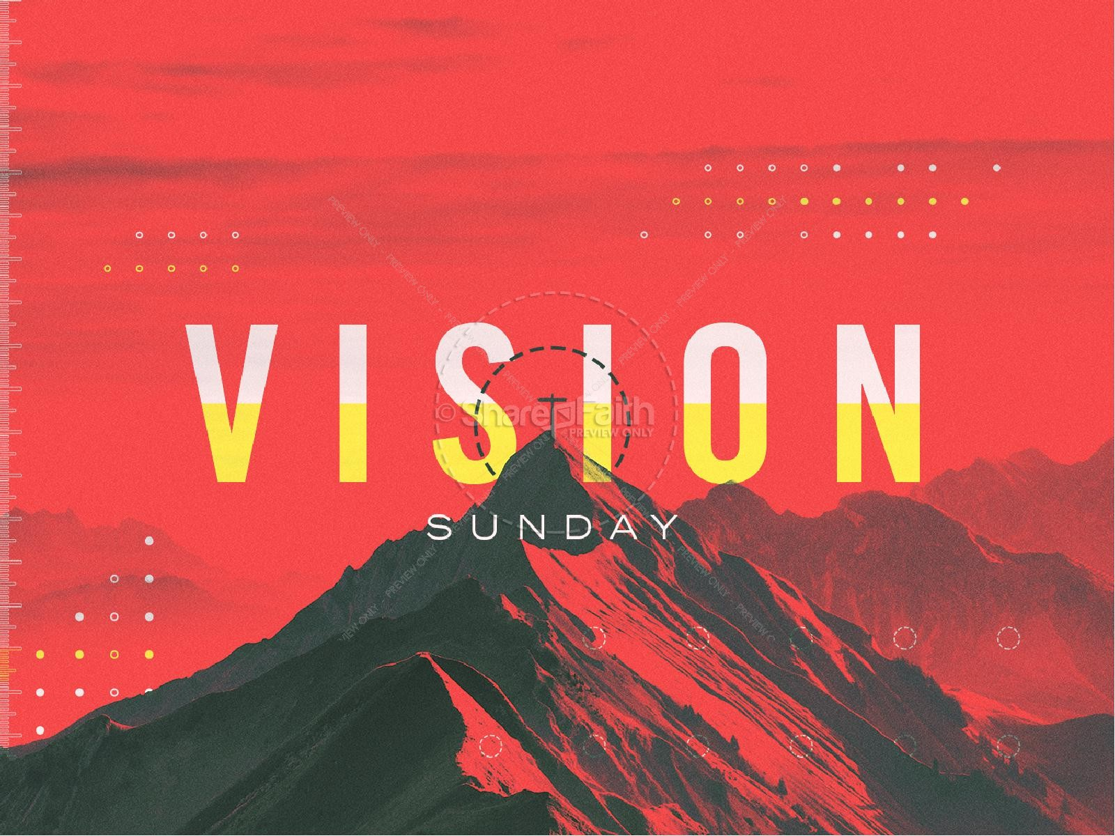 Vision Sunday Red Mountains Church PowerPoint | slide 1
