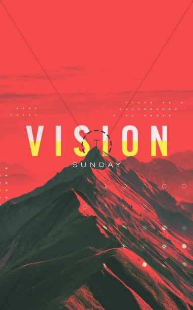 Vision Sunday Red Mountains Church Bulletin
