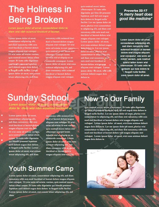 Vision Sunday Red Mountains Church Newsletter