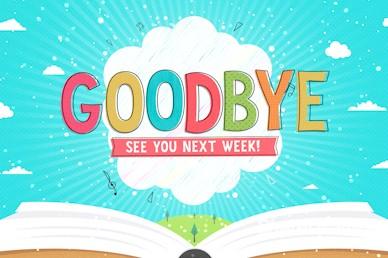 Kid's Church Service Goodbye Video Loop