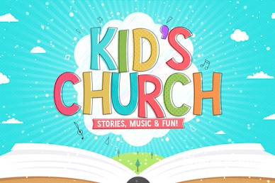 Kid's Church Service Greeting Video Loop