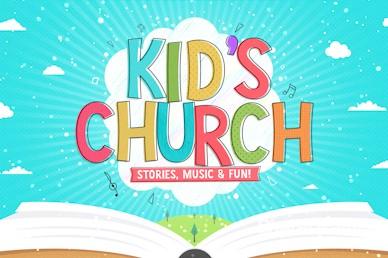 Kid's Church Service Greeting Video Loop