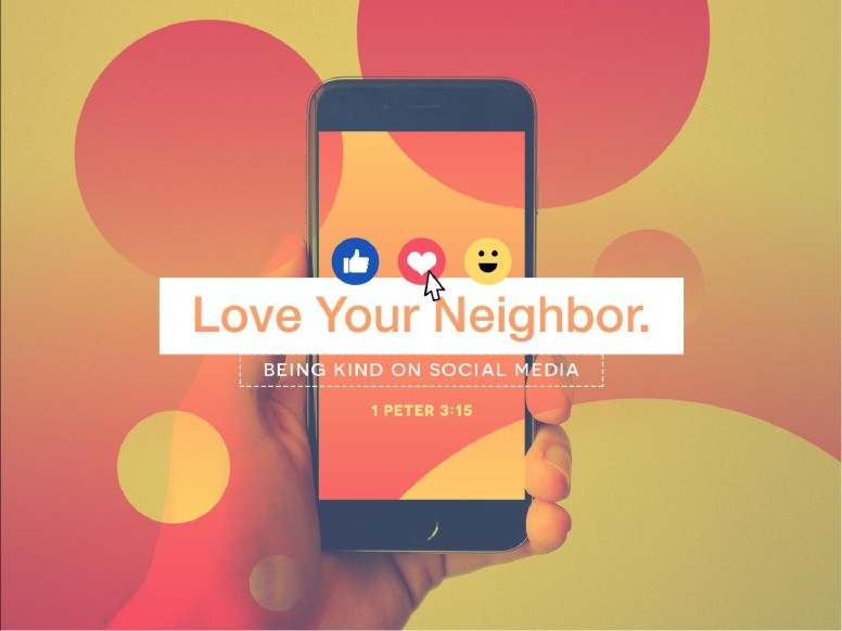 Love Your Neighbor Social Media Sermon PowerPoint