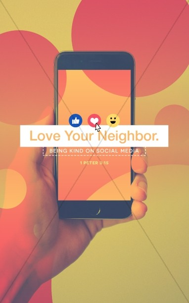 Love Your Neighbor Social Media Bulletin Cover
