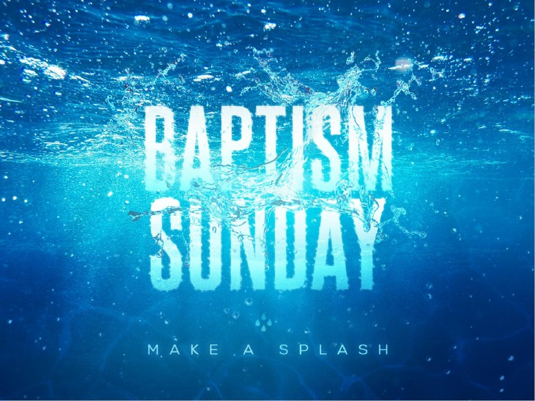 Baptism Sunday Church PowerPoint