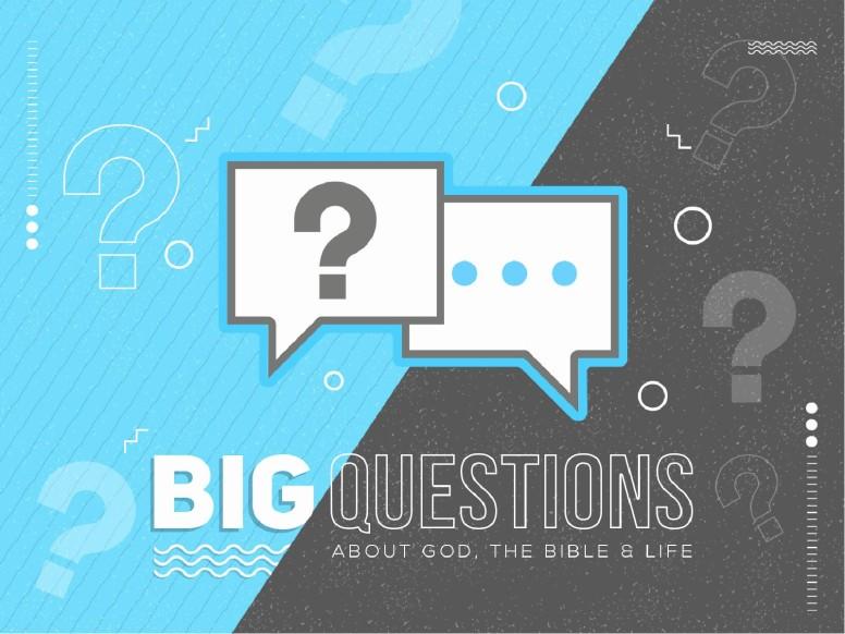 Big Questions Sermon PowerPoint