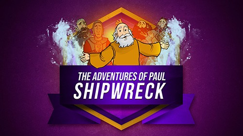 Acts 27 Shipwreck Bible Video for Kids
