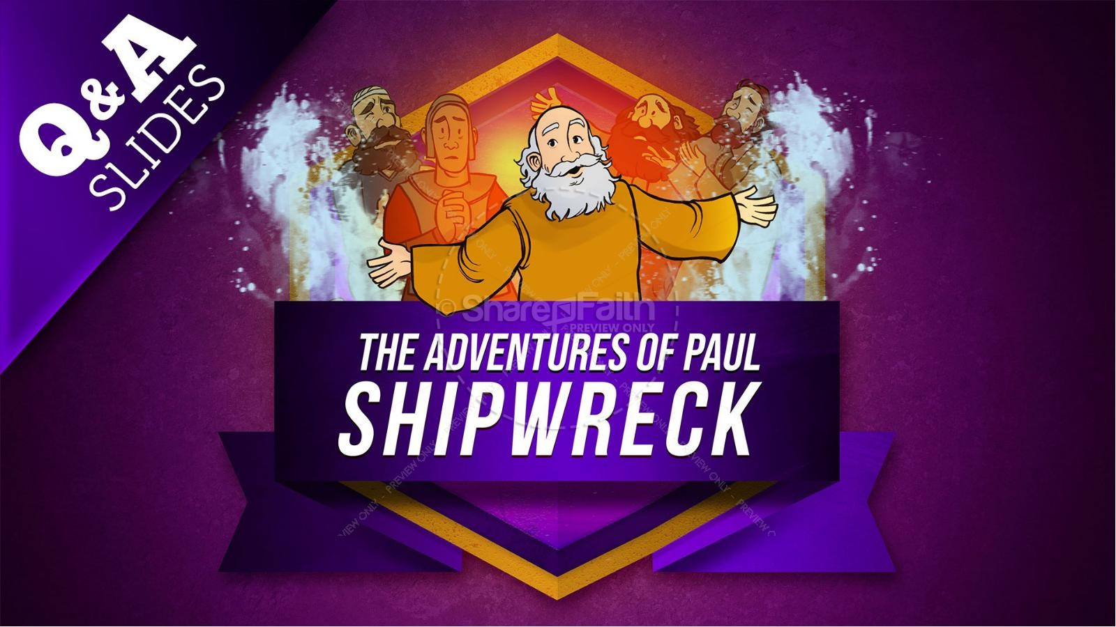 Acts 27 Shipwreck Kids Bible Story