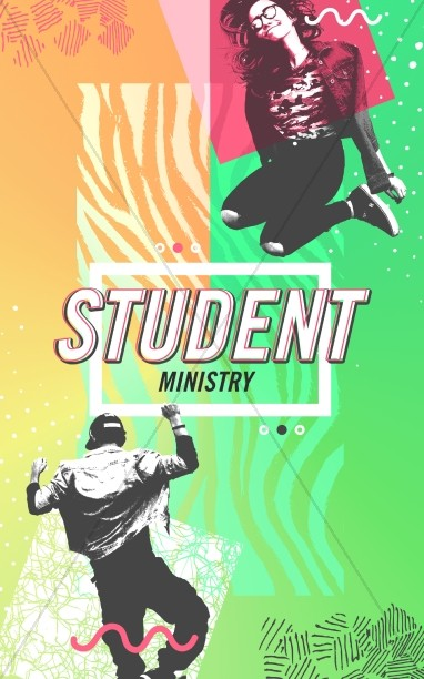 Student Ministry Church Bulletin