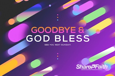Fall Ministry Launch Church Goodbye Video