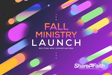 Fall Ministry Launch Church Service Video