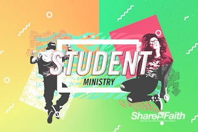 Student Ministry Church Motion Graphic