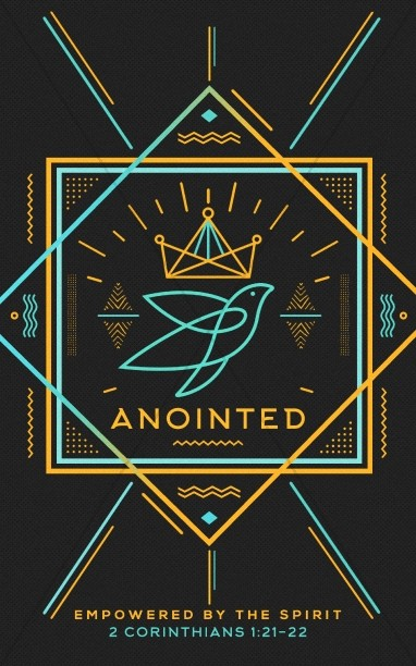 Anointed By The Spirit Church Bulletin