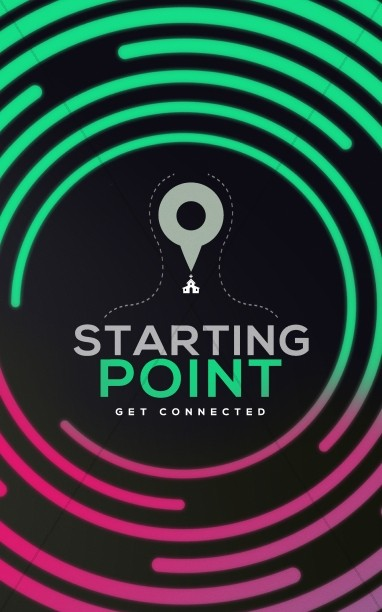 Starting Point Church Bulletin Cover
