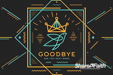 Anointed By The Spirit Goodbye Motion Graphic