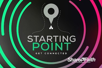 Starting Point Church Service Motion Loop