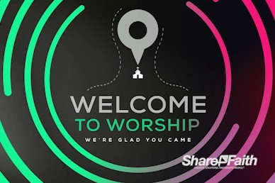 Starting Point Church Welcome Motion Loop