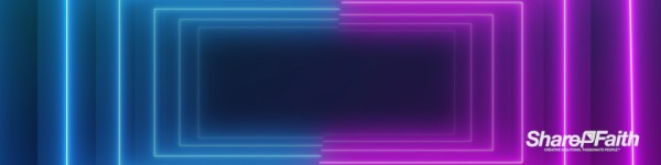 Laser Beam Corridor Multi Screen Motion Background