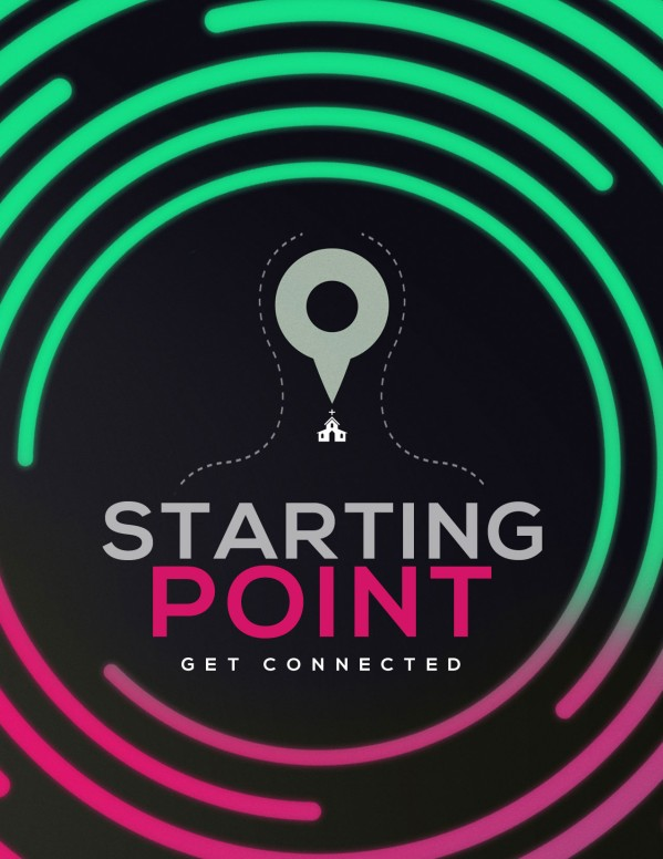 Starting Point Church Flyer Template