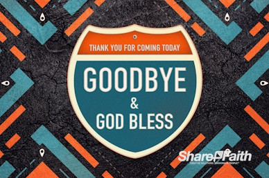 Road Trip Church Goodbye Motion Graphic