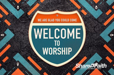 Road Trip Church Welcome Motion Graphic