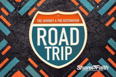 Road Trip Church Service Motion Graphic